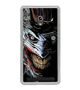 Scary Character 2D Hard Polycarbonate Designer Back Case Cover for Asus Zenfone 5 A501CG :: Asus Zenfone 5 Intel Atom Z2520 :: Asus Zenfone 5 Intel Atom Z2560