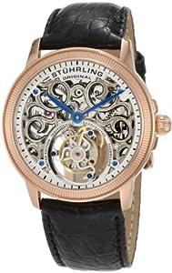 Stuhrling Original Men's 243.334X2 Tourbillon Mirage Tourbillon Limited Edition Mechanical Rose Tone Watch