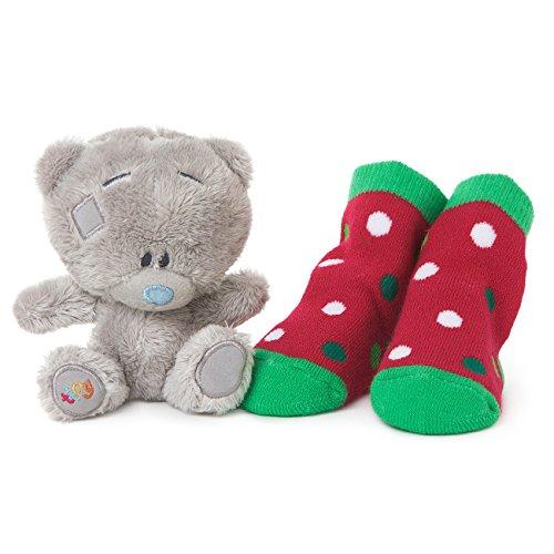baby-s-1st-christmas-tiny-tatty-teddy-plusch-und-socken-geschenk-set