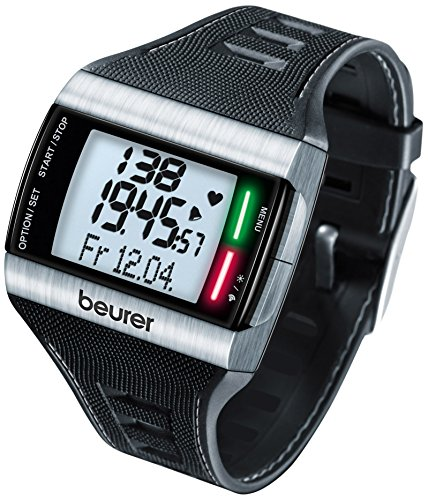 Beurer PM 62 Designer Heart Rate Monitor - Black