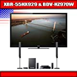 "Sony XBR 55HX929 - 55"" BRAVIA 3D LED-backlit LCD TV + Sony BDV-HZ970W - 5.1 ...."