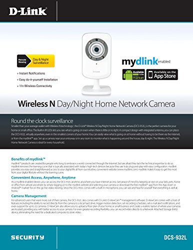 D-Link-DCS-932L-Wireless-Day/Night-Network-Surveillance-Camera