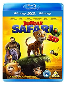 Jungle Safari 3D (3D Blu Ray + Blu Ray) [Blu-ray]