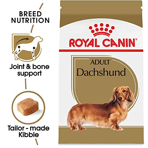 Royal Canin Dachshund Adult Breed Specific Dry Dog Food, 2.5 lb. bag