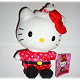 Hello Kitty Santa Claus Holiday 2013 Toy Plush 5 Inch By Sanrio