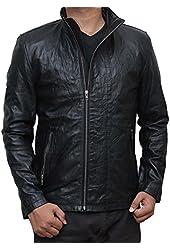 Mission Impossible 5 Jacket - Tom Cruise Black Leather Bomber Jacket