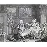 A Harlot's Progress, one of a series, by William Hogarth (V&A Custom Print)