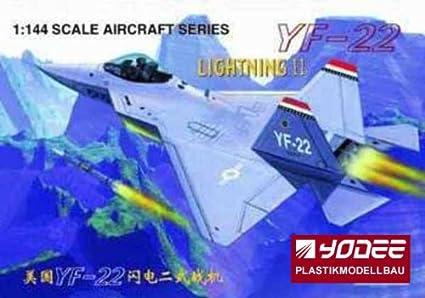 Maquette Lockheed YF-22