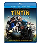 Cover art for  The Adventures of Tintin (Two-Disc Blu-ray/DVD Combo + Digital Copy)