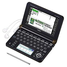 カシオ 電子辞書 エクスワード 医学プロフェッショナルモデル XD-U5900MED ブラック