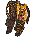 Scooby Doo 4 PC Long Sleeve Pajama Set Boy Size 8