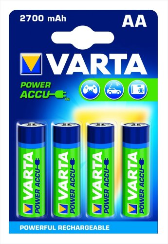 varta power accu nimh akku aa mignon 2700 mah 4er pack elektrodiscount. Black Bedroom Furniture Sets. Home Design Ideas