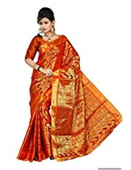 Mimosa Silk Others Saree With Blouse Piece (3006-131-Orng _Orange)