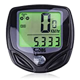 Bike Computer, Wireless Bike Accessories Automatic Wake-up Cycling Speedometer Waterproof SLB