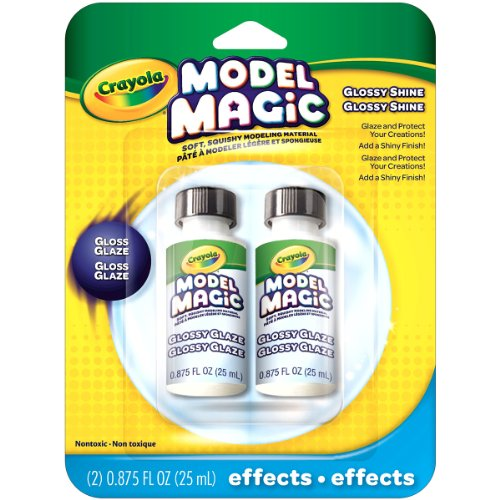 Crayola Model Magic Glossy Glaze, Double Pack