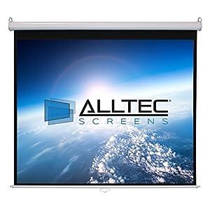 Alltec Screens ATS-M100HW Manual Series HDTV Projector Screen (100
