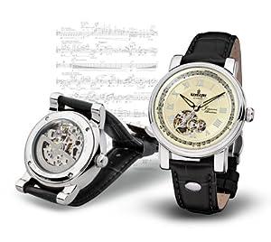 "Kronsegler Limit. Edition ""Johannes Brahms"" steel-ivory"