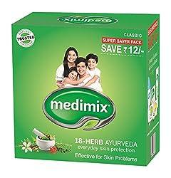 Medimix Ayurvedic Classic 18 Herbs Soap, 3x125g