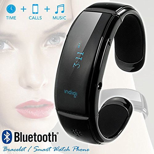 Indigi® Smartwatch Bracelet Bluetooth For All Ios Iphone Ipad Android Phone Tablet Pc (Us Seller)