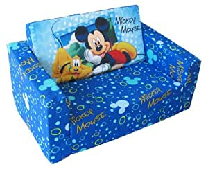 Disney Designs 70 X 45 X 35 Cm Flip Out Sofa Mickey Mouse