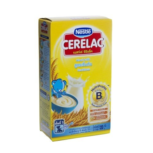 Nestle Cerelac Baby Food (Wheat & Milk) Size 120 G.