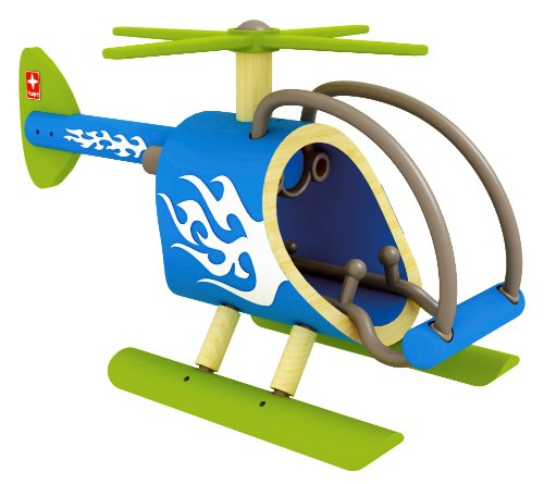 Hape E-Copter Bamboo Helicopter