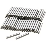 100 Pcs Stainless Steel 2.0mm x 15.8mm Dowel Pins Fasten Elements