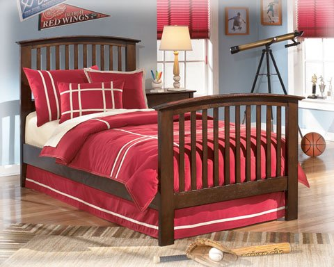 Nico Twin Panel Headboard/Footboard by Ashley Furniture