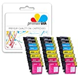 Premier Ink Brother Lc985 [ 24 Ink = 6 X Set ] Compatible Ink Cartridge Replace For Brother Brother Dcp J315W Dcp J125, Brother Dcp J515W, Brother Mfc J265W, Brother Mfc J410, Brother Mfc J415W, Printer, Brother Lc985, Lc985Bk, Lc985C, Lc985M, Lc985Y