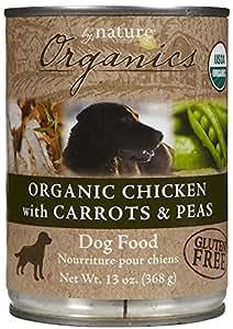 By Nature Organics - Chicken, Carrots & Peas - 12 x 13 oz