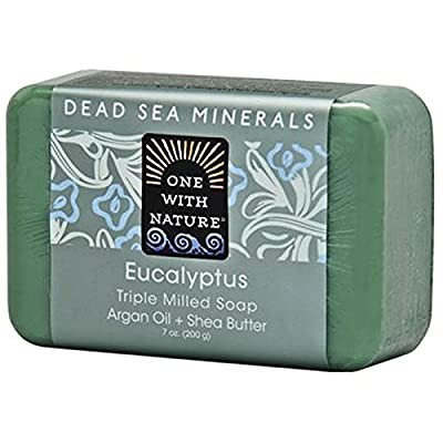 One with Nature, Triple Milled Soap Bar, Eucalyptus, 7 oz (200 g)