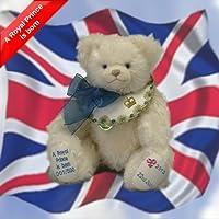 Hermann Spielwaren A Royal Prince Is Born Baby Teddy Bear Limited Edition from Hermann Spielwaren GmbH