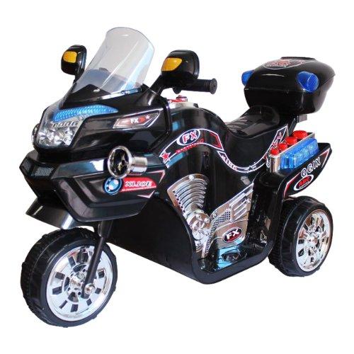 Lil' Rider Fx 3 Wheel Battery Powered Bike, Black front-585645