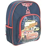 DISNEY CARS PISTON CUP LIGHTNING MCQUEEN LARGE BACKPACK RUCKSACK TRAVEL BAG NEW