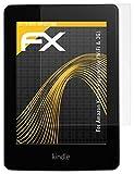 atFoliX Displayschutzfolie für Amazon Kindle Paperwhite (WiFi & 3G) (2 Stück) - FX-Antireflex: Displayschutz Folie antireflektierend! Höchste Qualität - Made in Germany!