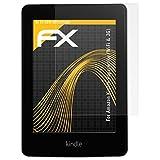 """atFoliX Displayschutzfolie f�r Amazon Kindle Paperwhite (WiFi & 3G) (2 St�ck) - FX-Antireflex: Displayschutz Folie antireflektierend! H�chste Qualit�t - Made in Germany!von """"Displayschutz@FoliX"""""""