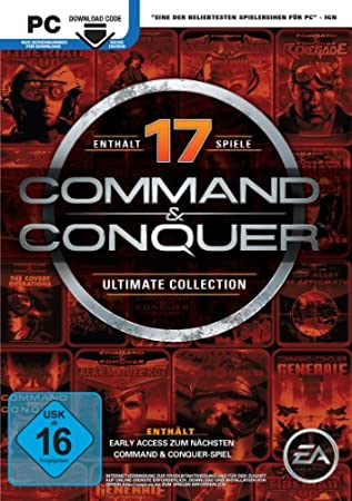 Command & Conquer - The Ultimate Collection [Code in der Box]