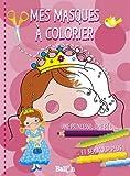 Mes masques de princesses à colorier...