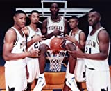 FAB 5 MICHIGAN WOLVERINES BASKETBALL TEAM 8X10 SPORTS ACTION PHOTO (W) at Amazon.com