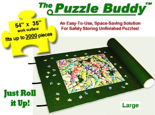 Cheap R & B Products Puzzle Buddy 3000 Jigsaw Puzzle Mat – 54″ X 35″ (B002WUA8O4)