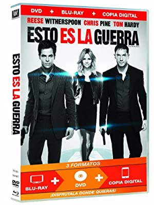 Esto Es La Guerra (Dvd+Bd+Copia Digital) [DVD] (2012) Reese Witherspoon; Chr