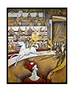 Especial Arte Lienzo The Circus - Georges Seurat Multicolor