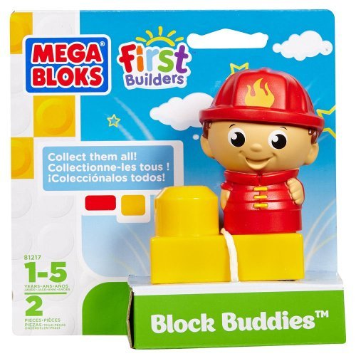 Block Buddies Semi Blind Packs - Lil Fireman