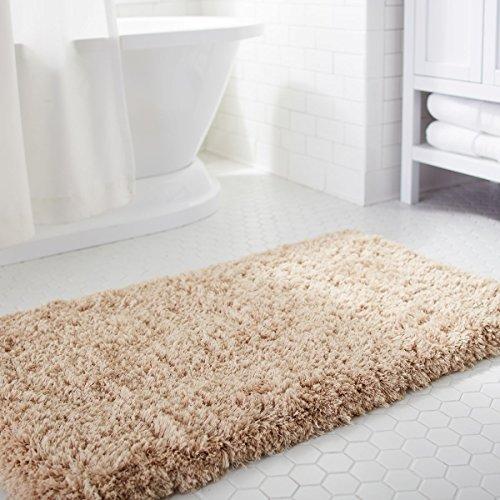 g nstig norcho badteppich badevorleger weiche mikrofaser badematte rutschfest antibakteriell. Black Bedroom Furniture Sets. Home Design Ideas
