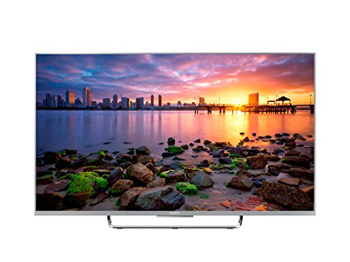 Sony KDL-43W756C Smart 43-inch Full HD TV (Android TV, X-Reality Pro, Motionflow XR 800 Hz, One Click Entertainment, Wi-Fi and NFC) - Silver, 2015 Model