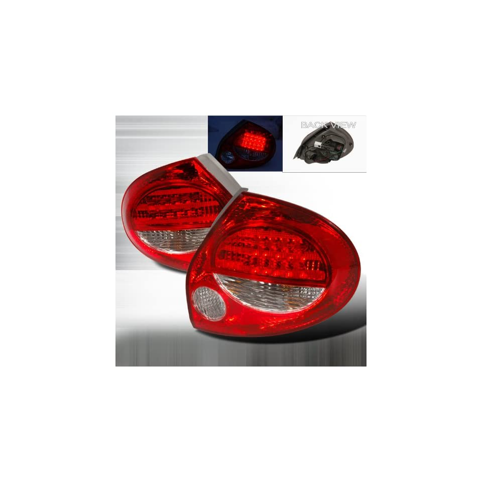 2000 2001 Nissan Maxima Led Tail Lights Red
