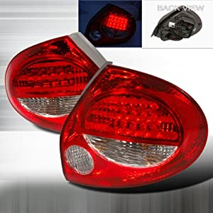 2000-2001 Nissan Maxima Led Tail Lights Red