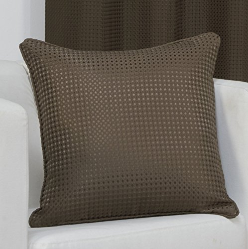 waffle-brown-knife-edge-cushion-cover-17in-x-17in43cmx43cm-approximately-by-hamilton-mcbrider