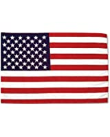 *** PROMOTION *** Drapeau Etats Unis USA - 150 x 90 cm (Uniquement chez le vendeur PLANETE SUPPORTER = 100% conforme à l'image)