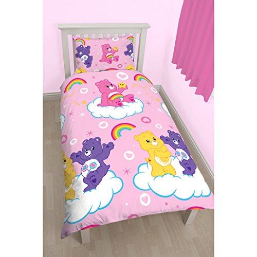 care-bears-share-rotary-design-duvet-set-polyester-multi-colour-single